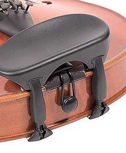Wittner Composite All-Size Viola Chinrest - Center Mount - Hypoallergenic
